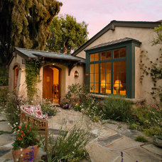 mediterranean exterior by Giffin & Crane General Contractors, Inc.