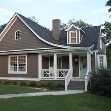 Craftsman Exterior by Greenwise Design and Construction