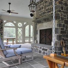 Traditional Exterior by Cornerstone Construction