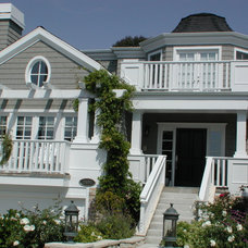 Traditional Exterior by Lane Design + Build