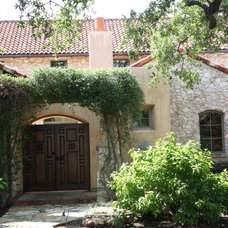 Mediterranean Exterior by Rick O'Donnell Architect