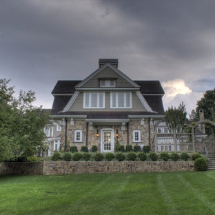 Example of a classic exterior home design in New York