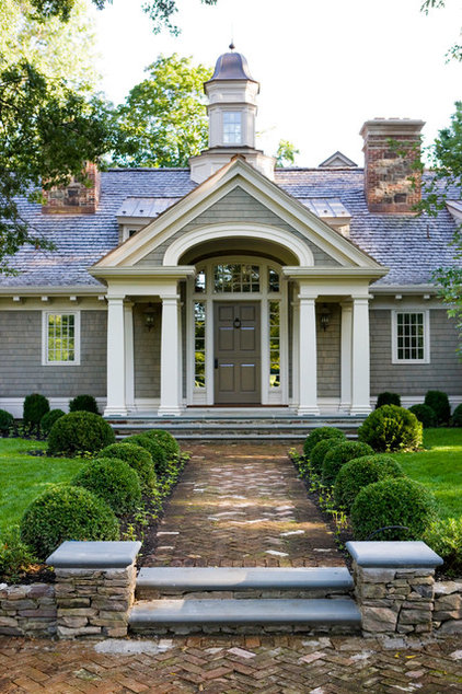 Traditional Exterior by Peter Dorne Architects
