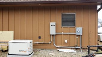 Generator installation in Alexander, NC