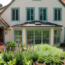 Traditional Exterior by GreenBridge Architects