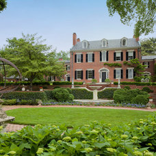 Traditional Exterior by Rill Architects