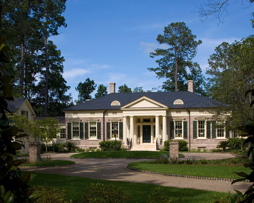 Greek Revival House Plans Ideas Pictures Remodel and Decor
