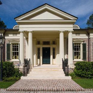 Example of a classic brick exterior home design in Atlanta