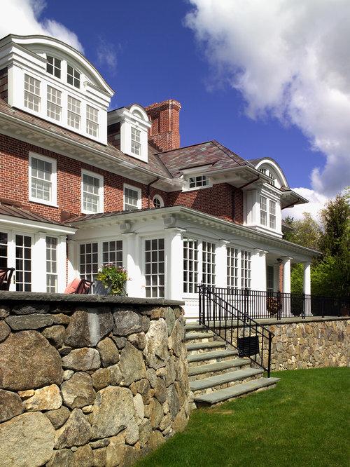Georgian Brick House Houzz