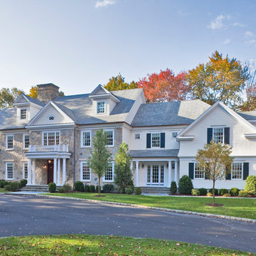 Georgian Colonial Style in Stamford, CT
