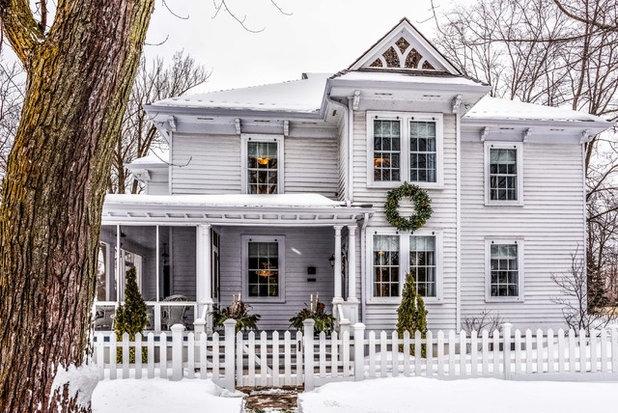 Traditional Exterior by DeCola Windows & Doors Inc.
