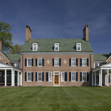 Traditional Exterior by Archer & Buchanan Architecture, Ltd.