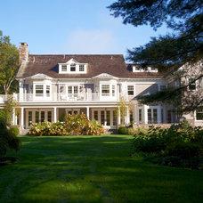 Traditional Exterior by Brooks and Falotico Associates, Inc.