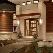 Contemporary Exterior by GETAdesign, LLC