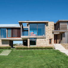 Modern Exterior by James Merrell Architects, P.C.