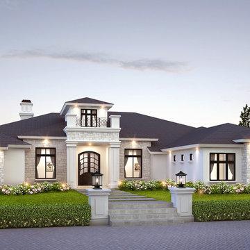 Gilbert Custom Home Renderings