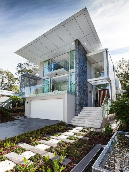 Brisbane Exterior Home Design Ideas Remodels Photos