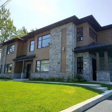 Gilles Malo - Fiber Cement Siding - Multi-family Apartment Building
