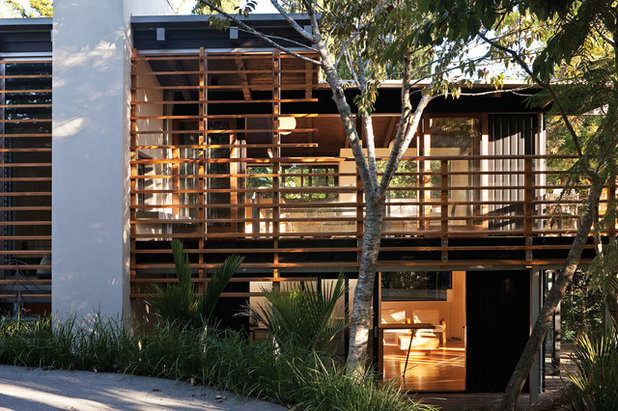 Contemporary Exterior by Strachan Group Architects