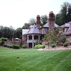 Traditional Exterior by Zampolin Robert E & Associates