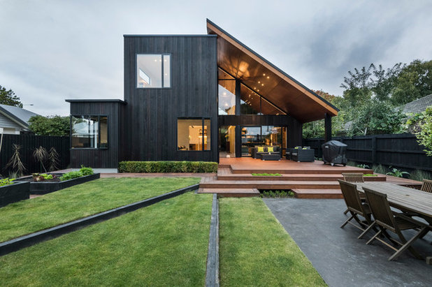 Contemporary Exterior by Allfrey + South Architects Limited