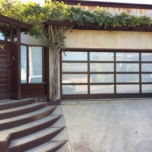 Glass And Aluminum Framed Garage Doors