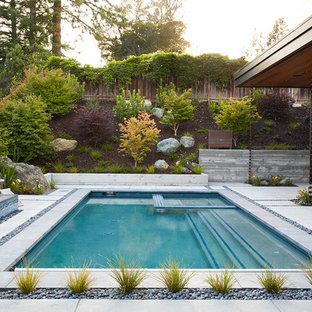 Пример оригинального дизайна: дом в стиле модернизм