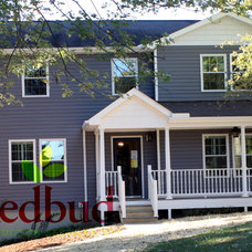 Traditional Exterior by Redbud Construction Services