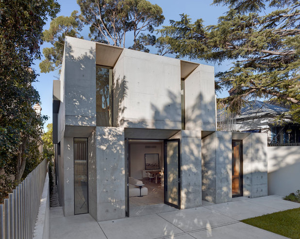 Contemporain Façade by Nobbs Radford Architects