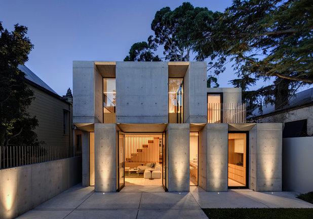 Trendy Hus & facade by Nobbs Radford Architects