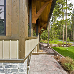 contemporary exterior by Sticks and Stones Design Group inc.