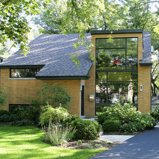 Contemporary Exterior by Normandy Remodeling