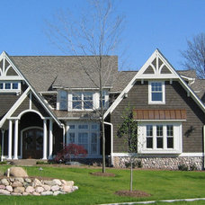 Traditional Exterior by Heartwood Custom Homes Inc.
