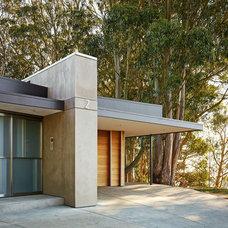 Modern Exterior by Moroso Construction