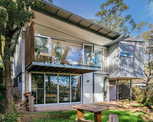 Sydney Prefab Eco Home Exterior Design Ideas Renovations