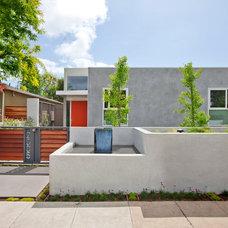 Contemporary Exterior by American Coastal Properties