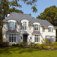 Traditional Exterior by Randall Architects