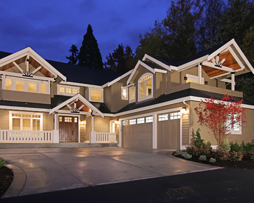 L shaped garage home design ideas pictures remodel and decor for L shaped homes