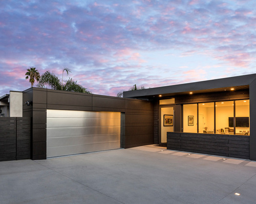 Metal Exterior Home Design Ideas Remodels Amp Photos