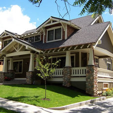 Craftsman Exterior by Watton Design Works, Inc.