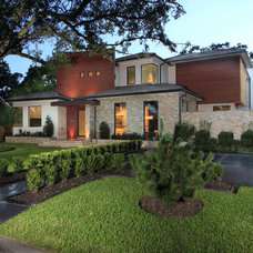 Contemporary Exterior by Gunn Construction & Building Co.