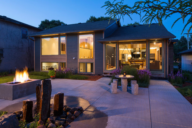 Contemporary Exterior by eric odor, aia, leed ap. SALA Architects