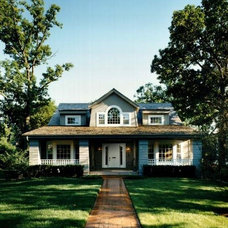 Traditional Exterior by Downey Robbins Szafarz Architects Inc.