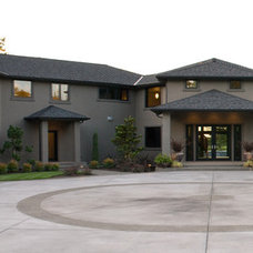 Contemporary Exterior by Coyote Design Architecture + Planning PLLC