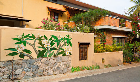 Facades: Best Colours for Indian Homes' Exterior Walls