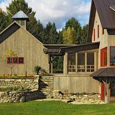 Farmhouse Exterior by Cushman Design Group