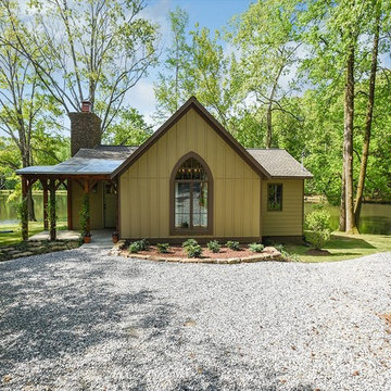 Gothic Revival Lake Cottage