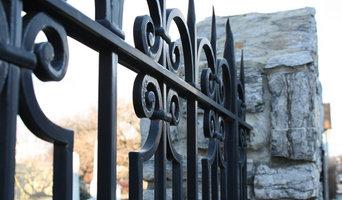 Gothic Wrought Iron Fence