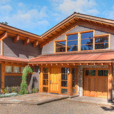 Rustic Exterior by McKinney Group, Inc