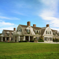 Traditional Exterior by Patrick Ahearn Architect